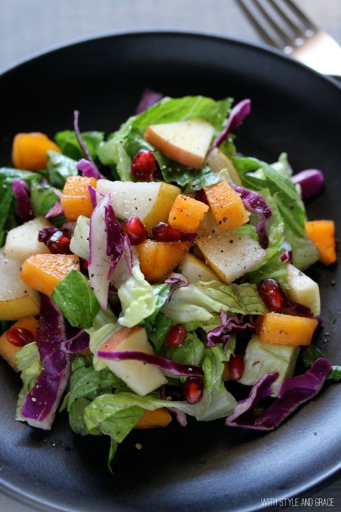 Winter Chop Chop Salad | Crazy for Salads | Pinterest