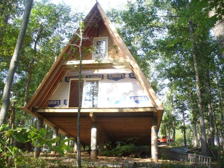 20x32 cabin joy studio design gallery best design for Rustic a frame cabin