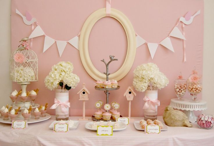 Mesas dulces de Montse