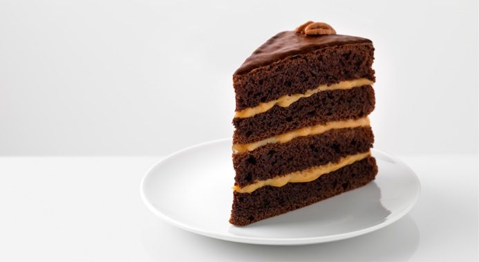 Chocolate-Caramel Turtle Torte | Cakes, cookies & slices to test | Pi ...