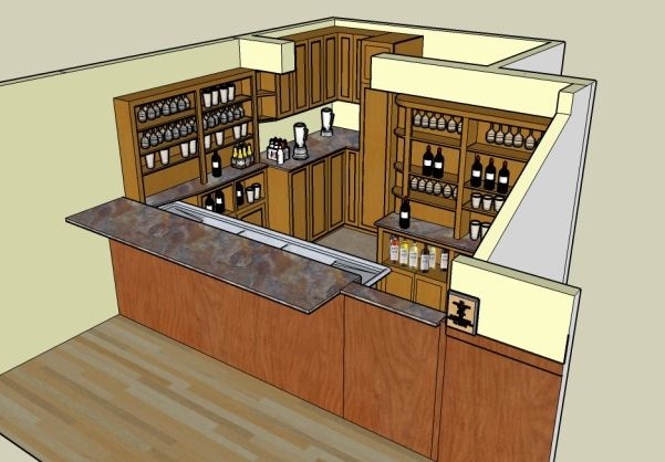 commercial bar design man town pinterest