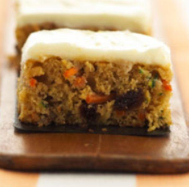 Zucchini-Carrot Bars | Sweets, Treats, and Baking | Pinterest