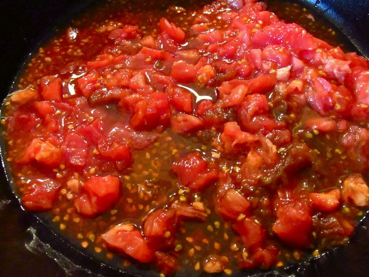 """Homemade """"Canned"""" Diced Tomatoes - Excited to use tomatoes from the..."""