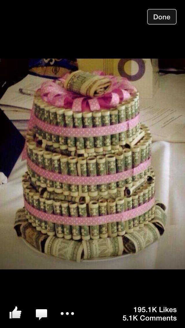 Pin money cake ideas 66760 money cake - Money cake decorations ...