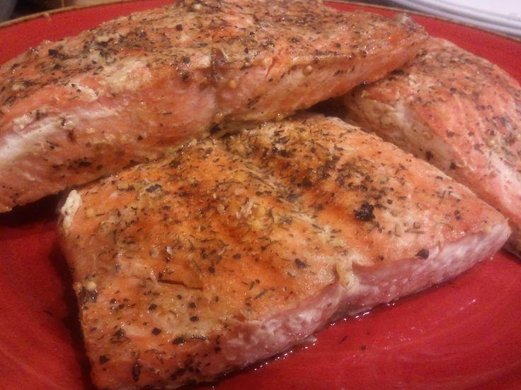 Grilled Wild Alaskan Salmon Recipe — Dishmaps