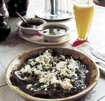 ... Black Bean Paste: Epicurious.com Tortillas in Black Bean Sauce