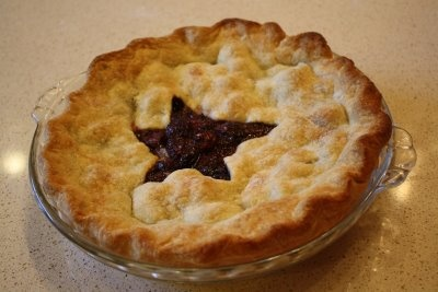 Recipes for Zucchini-Bacon Quiche AND Sweet Cherry Pie!