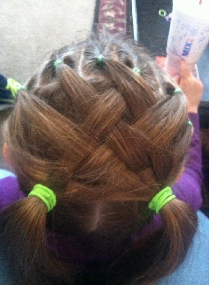 beach curl hairstyles : Basket weave hair For Payton Pinterest
