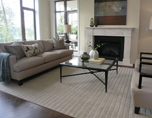 living room rug simple home ideas pinterest
