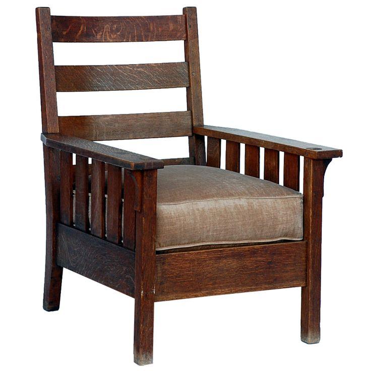 Original gustav stickley 324 armchair furniture pinterest
