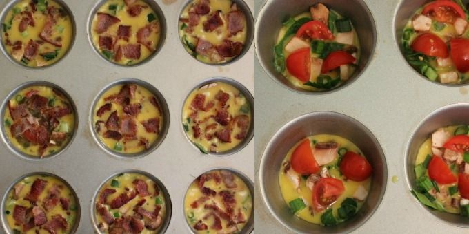 ... Inklings...: Mini Crustless Quiche (Paleo, Gluten-Free, Dairy-Free