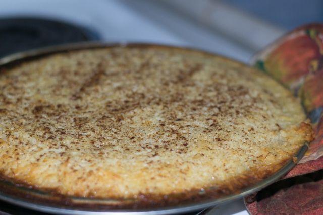 THE OGDEN'S MISSIONARY TREK | Cinnamon Coconut Custard Pie