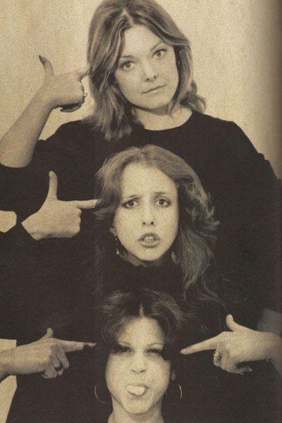 Jane Curtain, Lorraine Newman and Gilda Radner