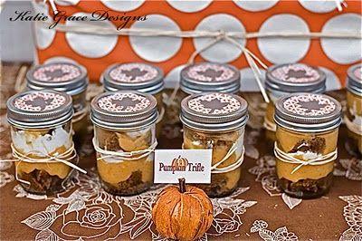 Pumpkin Trifles   Holidays~Food~DIY~Decor   Pinterest