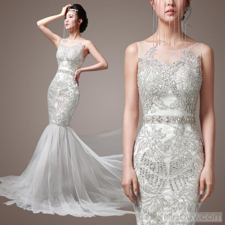 Flapper Style Wedding Dresses