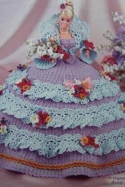 barbie crochet ball gown patterns free | barbie crochet ball gown ...