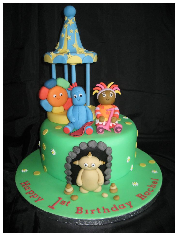 Pin by kasey hicks on cakes cupcakes pinterest Ups a daisy in the night garden