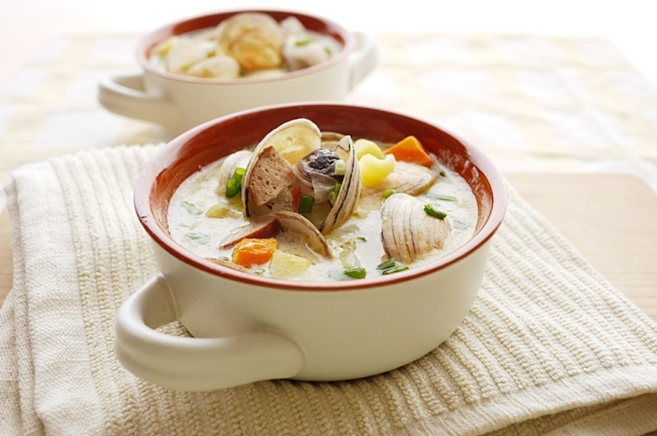 New England Clam Chowder | Stupendous Soups and Stews | Pinterest