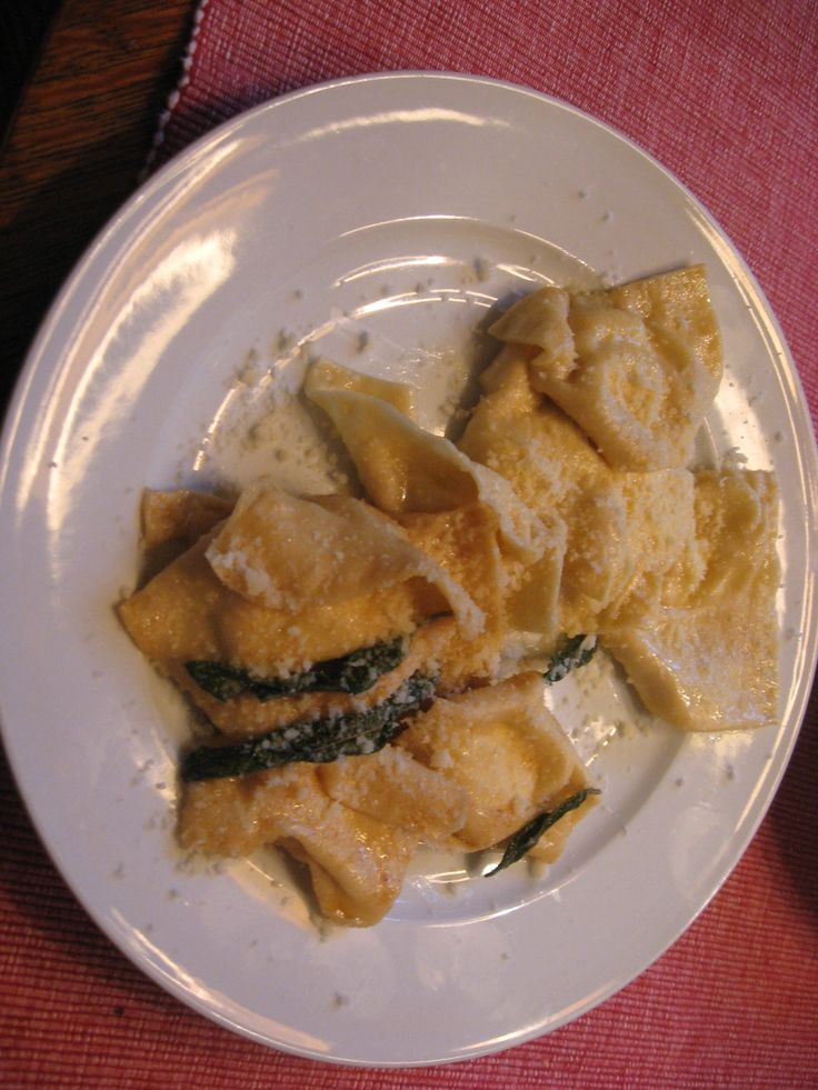 Ricotta Ravioli with Brown Sage Butter | Recipe