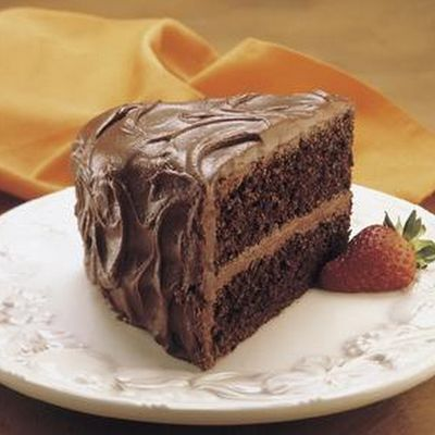 Hershey's Perfectly Chocolate Cake With Chocolate Frosting Recipes ...
