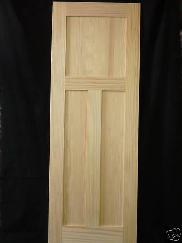 Wood 3 Panel Shaker Interior Door Pine Shaker Pinterest