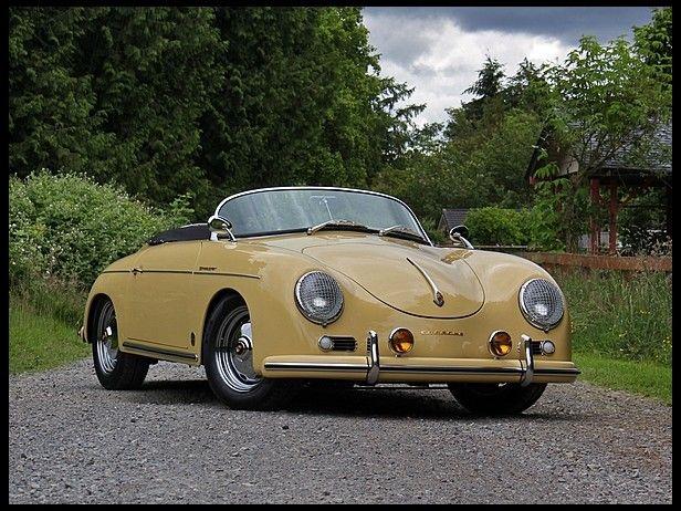 1961 Porsche 356 Speedster Cahz Pinterest