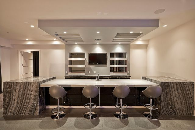 Modern wet bar home design off the mountain pinterest - Modern wet bar ideas ...