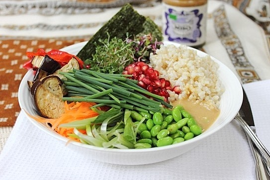 Deconstructed Sushi Bowl | iCrave | Pinterest