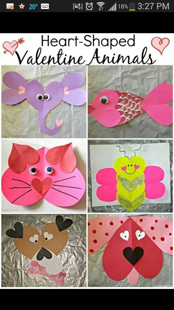 valentine kid art projects