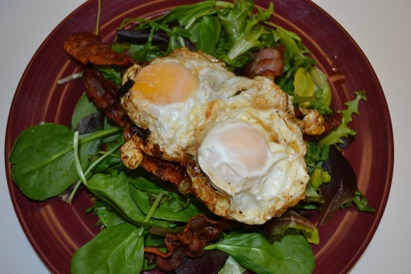 Poached Egg Salad | Paleo! | Pinterest