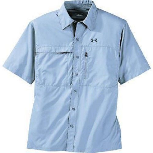 under armour men 39 s flats guide short sleeve fishing shirt