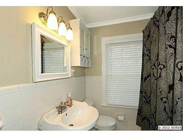 Tile Wainscoting Bathroom Pinterest