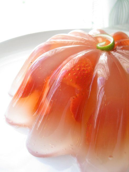 Recipe for Strawberry Margarita Gelatin Mold