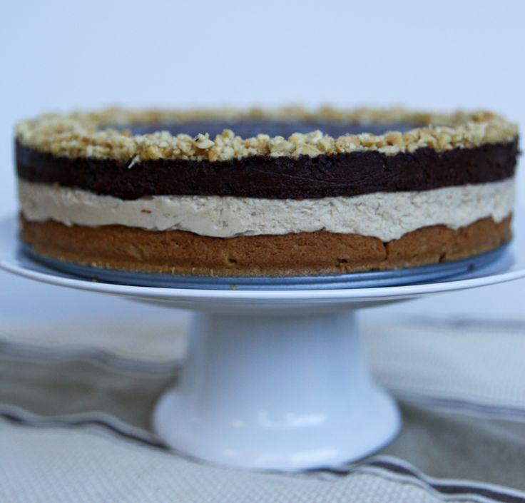 Triple Treat Peanut Butter Tart | Baking | Pinterest