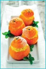 Clementine Sorbet by | Bon appétit | Pinterest