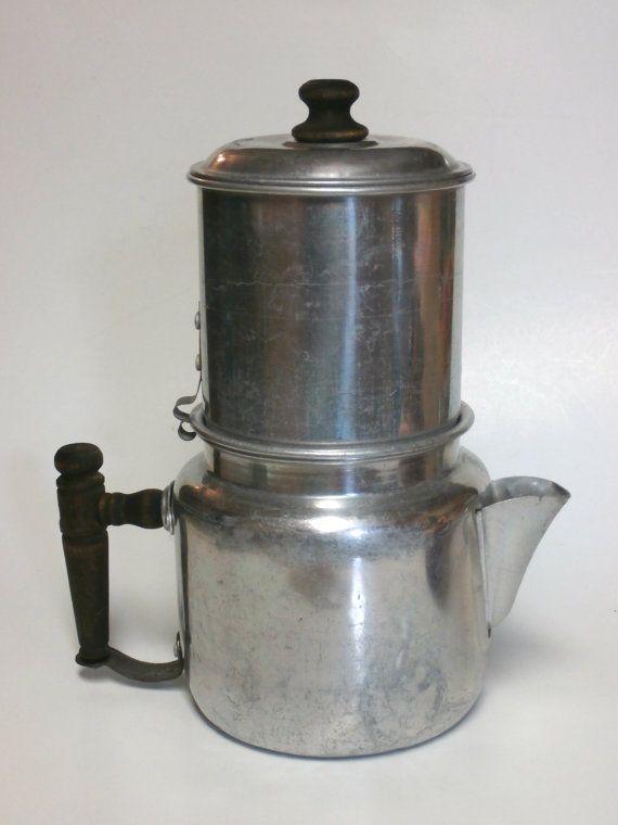 Coffee Maker Non Electric : Vintage Drip-O-Lator Non Electric Coffee Maker Eco Friendly Circa ear?