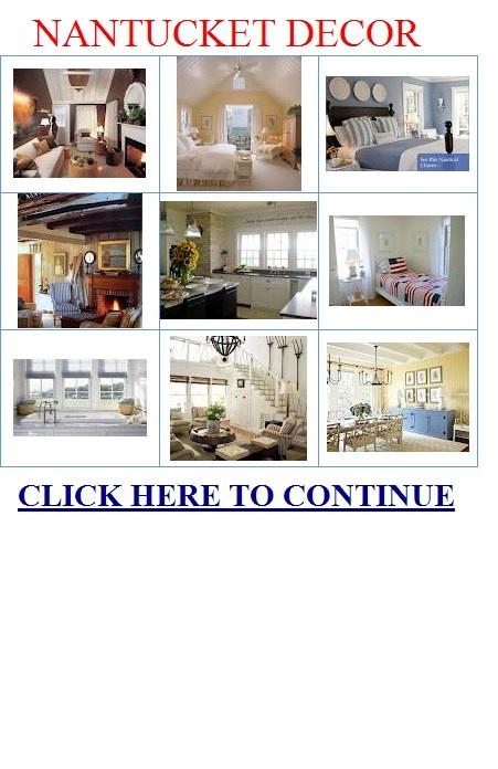 Nantucket decor lake beach house pinterest for Nantucket decor