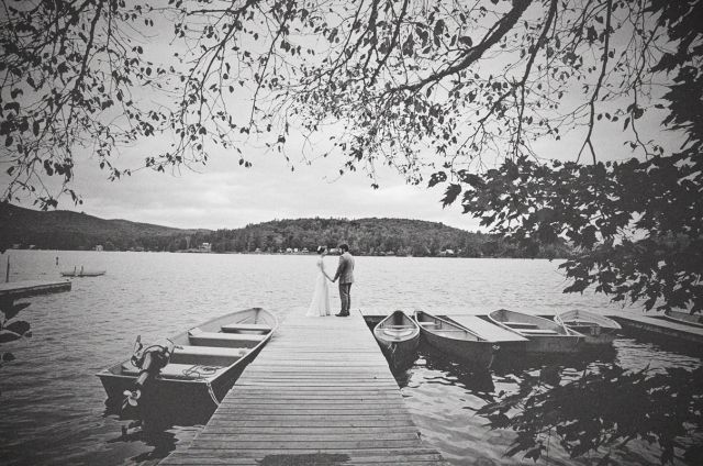 dock photo - i really like the faded black and white effect for SOME photos