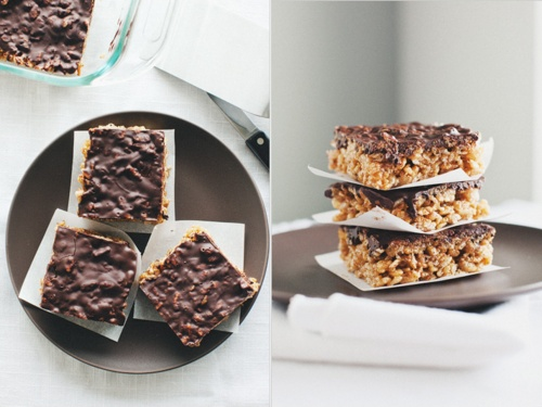 Brown Rice Crisp Treats | Yum Yummy Delights | Pinterest