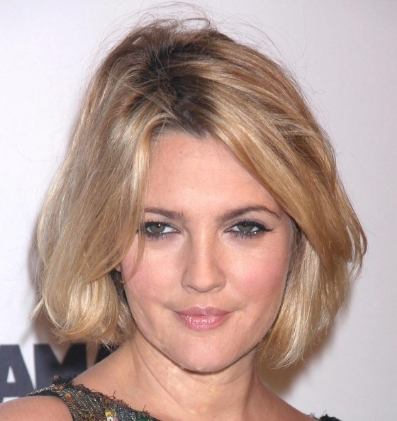 Drew Barrymore Bob The always quirky Drew showed off her short new bob ...