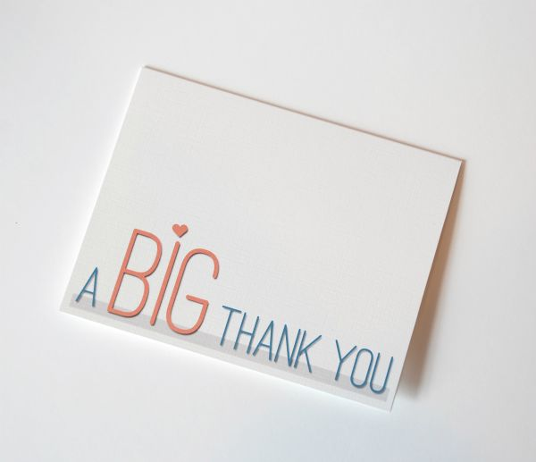 Thank You Card #printable