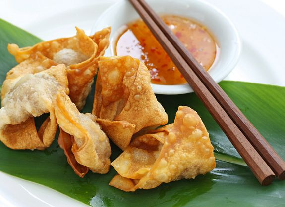 Chef Noire: How To Make Crispy Chicken Wontons