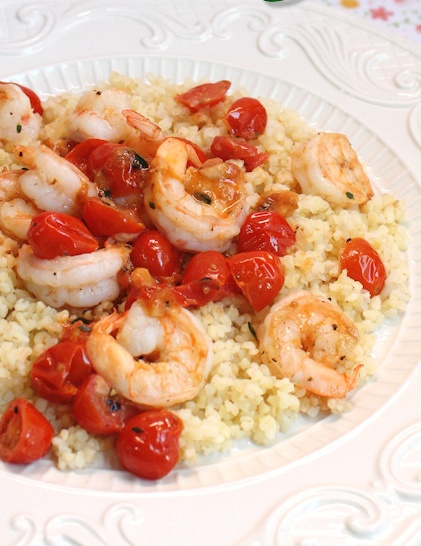 Shrimp and Tomato Scampi