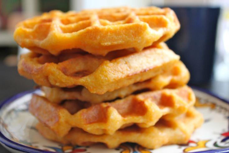 vegan sweet potato waffle | Vegan Sweet Potato recipes | Pinterest
