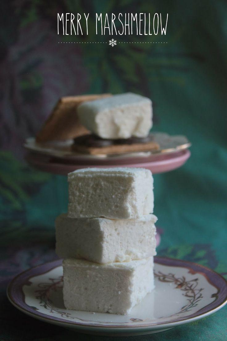 vanilla-bean and honey marshmallows | My Noms | Pinterest