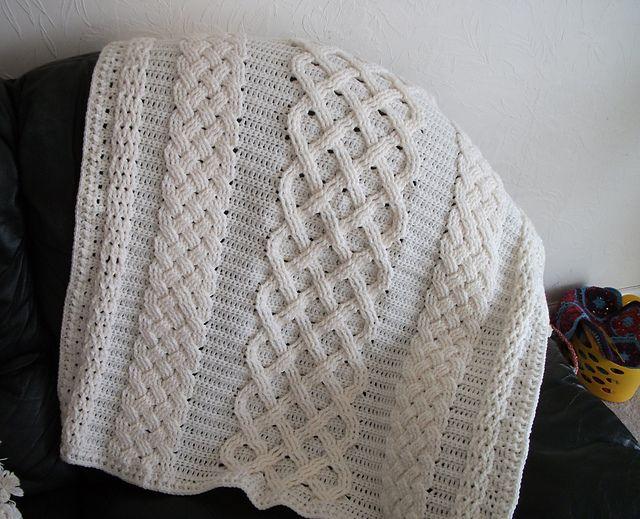 Irish Baby Blanket Knitting Pattern : Pin by Amy Warpula Long on Crochet Pinterest