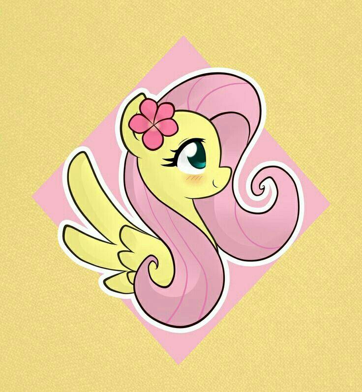 My little pony fluttershy cute - photo#21