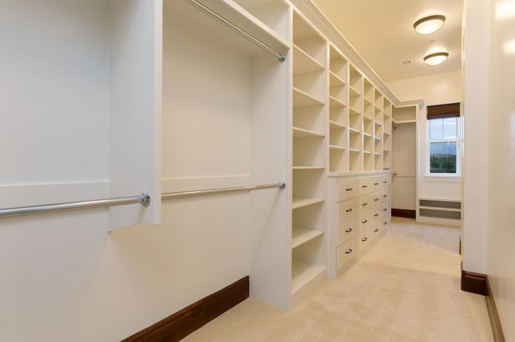 Master bedroom walk in closet island mountain home Walk in bedroom closets