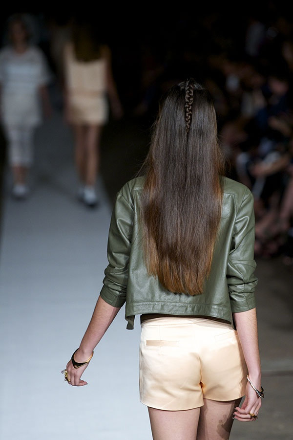 Manning Cartell at Australian Fashion Week - hair created by Alan