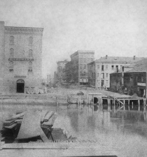 "Historic Photos of Toledo - Water Street  An excerpt from ""Historic Photos of Toledo"" by Gregory M. Miller"